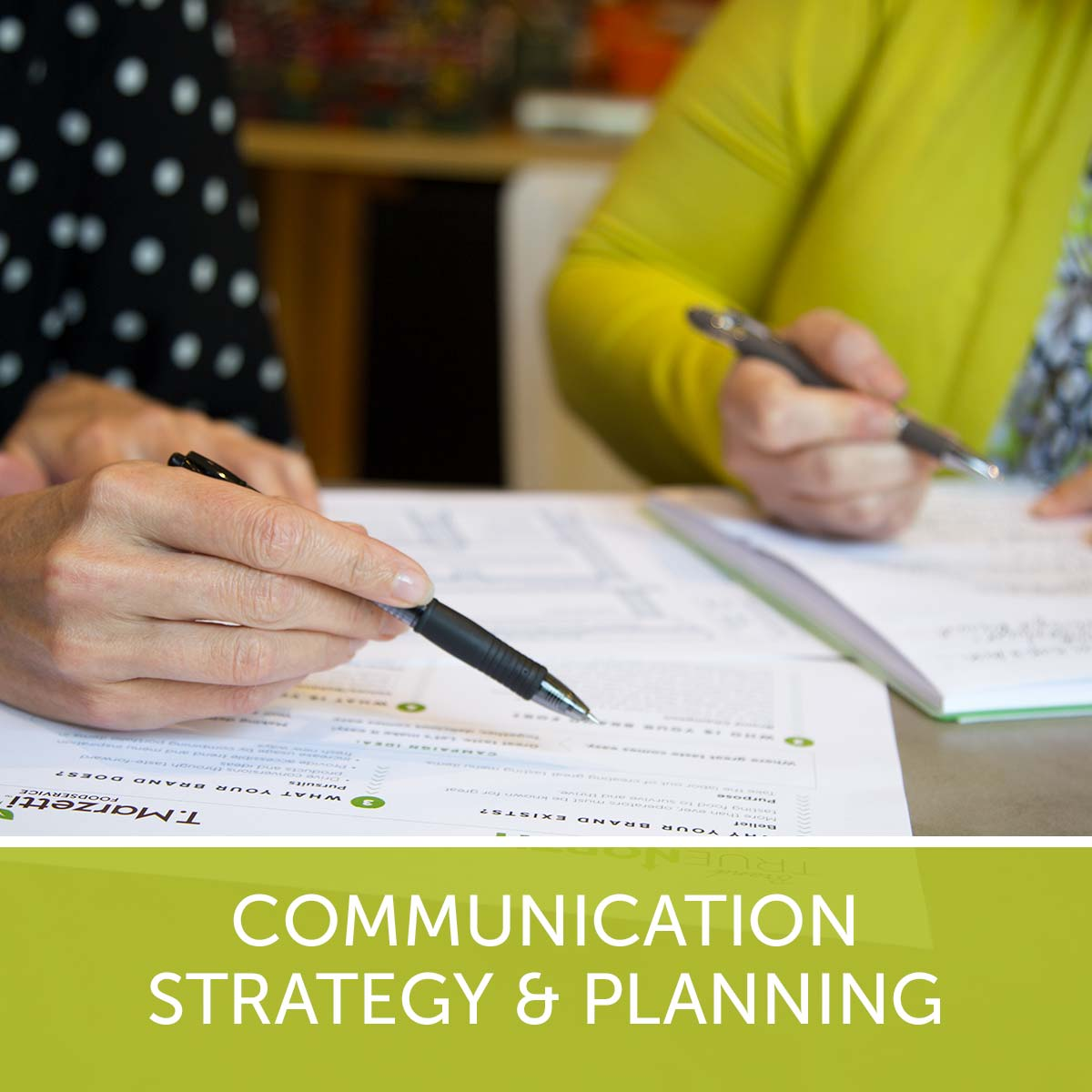Communication Strategy And Planning